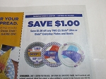 15 Coupons $1/2 Dixie Ultra or Dixie Everday Plates and Bowls 2/19/2020