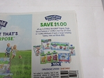 15 Coupons $1/3 Stonyfield Organic Single Serve Products DND 5/31/2020