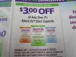 15 Coupons $3/1 AllerLife 20ct Capsule 5/16/2020