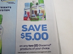 15 Coupons $5/2 Glucerna 6/15/2020