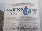15 Coupons $1/1 All Laundry Detergent 6/7/2020