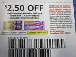 15 Coupons $2.50/1 Fixodent Adhesive Twin or Triple Pack 1.4oz 6/13/2020