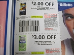 15 Coupons $2/1 Gillete Razor + $3/1 Gillette Disposable 2ct 7/4/2020