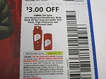 15 Coupons $3/3 Old Spice Antiperspirant Deodorant Body Wash or Bar Soap 6/13/2020
