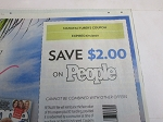 15 Coupons $2/1 People Magazine 6/15/2020