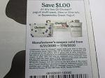 15 Coupons $1/2 Chobani Yogurt Multi Pack 24oz or 32oz Tub or Squeezable Greek Yogurt 7/19/2020 DND