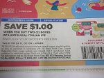 15 Coupons $1/2 Luigi's Real Italian Ice 24 floz 7/24/2020