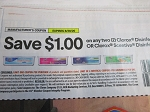 15 Coupons $1/2 Clorox or Scentiva Disinfecting Wet Mopping Cloths 8/28/2020