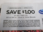 15 Coupons $1/2 Ocean Spray 60 or 64oz Juice or Juice Blends 7/31/2020