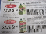 15 Coupons $1.50/1 Bertolli Olive Oil 1.5l, 2l or 3l +  $1/1 Bertolli Olive Oil 16.9oz, 25.5oz, 1.5l, 2l or 3l 8/23/2020 DND