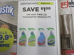 15 Coupons $1/2 Fantastic Products 9/5/2020