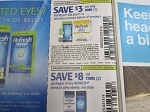15 coupons $3/1 Refresh Relieva or Optive Mega 3 + $8/2 Refresh 9/5/2020