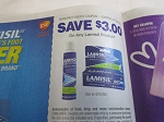 15 Coupons $3/1 Lamisil 7/26/2020