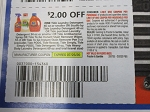 15 Coupons $2/1  Tide Laundry Detergent 46oz or smaller 7/25/2020