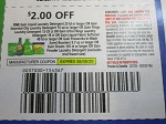 15 Coupons $2/1 Gain Liquid Laundry Detergent 25ld or larger or Flings 12-35ct or Ultra Flings 18ct 8/8/2020