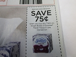 15 Coupons $.75/2 Single Box Scotties Facial Tissue 8/22/2020