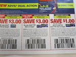 15 Coupons $3/1 Advil 72ct + $3/1 Advil PM 40ct 8/9/2020  + $1/1 Advil 18ct or PM 20ct 8/29/2020