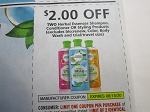15 Coupons $2/2 Herbal Essences Shampoo Conditioner or Styling 8/15/2020