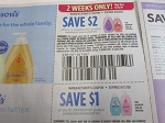 15 Coupons $2/1 Johnson's 8/29/2020 + $1/1 Johnsons 9/12/2020