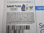 15 Coupons $1/1 All Laundry Detergent 9/6/2020