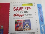 15 Coupons $1/2 Kellogg's Cereals 10/25/2020