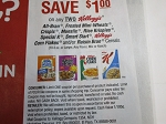 15 Coupons $1/2 Kellogg's All Bran Frosted Min Wheats Special K Cereal 10/18/2020