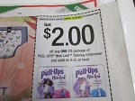 15 Coupons $2/1 Pull Ups New Leaf Training Underwear 10/10/2020