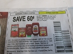15 Coupons $.60/3 Red Gold Redpack Sacramento or Huy Fong 10oz Tomato Products 10/31/2020
