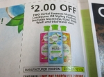 15 Coupons $2/2 Herbal Essences Shampoo Conditioner or Styling 11/17/2020