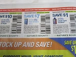 15 Coupons $10/1 Osteo Bi Flex tablets 70ct + $7/1 Osteo Biflex Ease 28ct + $1/1 Osteo Bi Flex Liquid Joint Soother 10/18/2020