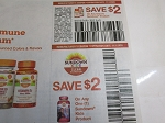 15 Coupons $2/1 Sundown Product + $2/1 Sundown Kids Vitamins 11/1/2020