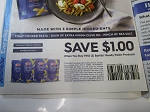 15 Coupons $1/2 Barilla Ready Pasta 4/10/2021
