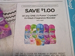 15 Coupons $1/1 Purex Crystals In Wash Fragrance Booster 3/21/2021