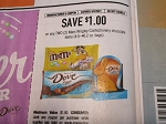 15 Coupons $1/2 Mars Wrigley Confectionery Chocolate DND (Dove, Snickers, Twix Ect..) 4/5/2021