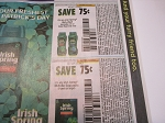 15 Coupons $.75/1 Irish Spring Body Wash + $.75/1 Irish Spring Multi Bar Soap 3/27/2021 DND