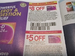 15 Coupons $8/1 Allegra D 12hr or 24HR 15ct 3/20/2021 + $5/1 Allegra D 4/3/2021