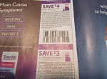 15 Coupons $4/1 Soothe + $3/1 Soothe Nightime 5/14/2021