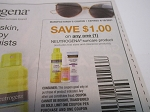 15 Coupons $1/1 Neutrogena Suncare 4/10/2021