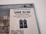 15 Coupons $2/1 Vaseline Men's Lotion 6.8oz 3/27/2021