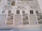 15 Coupons $5/2 Tresemme Pro Pure or Botanique Shampoo or Conditioner + $3.5/2 Tresemme pro Collection Shampoor or Conditioner + $2.50/2 Tresemme Shampoo or Conditioner 4/10/2021