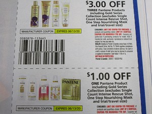 15 Coupons $3/3 Pantene Products + $1/1 Pantene Product 6/13/2020