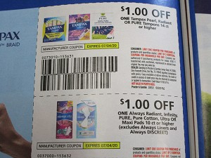 15 Coupons $1/1 Tampax Pearl Radiant or Pure Tampons 14ct + $1/1 Always Radiant Infinity Pure Ultra or Maxi Pads 10ct 7/4/2020