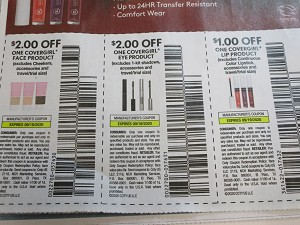 15 Coupons $2/1 Covergirl Face + $2/1 Covergirl Eye + $1/1 Covergirl Lip 9/19/2020