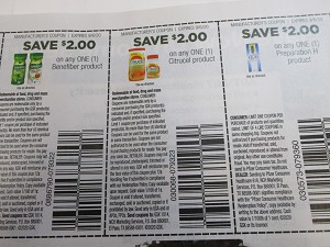 15 Coupons $2/1 Benefiber + $2/1 Citrical + $2/1 Preparation H 9/6/2020