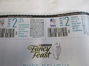 15 Coupons $2.25/12 Fancy Feast Broths + $2/12 Fancy Feast Appetizers Wet Cat Food Complements 11/13/2020