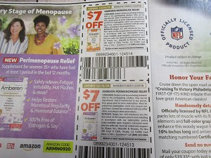 15 coupons $7/1 Amberen Menopause Relief + $7/1 Perimenopause Relief 10/26/2020