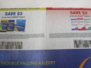 15 Coupons $3/1 Midnite + $2/1 Feosol 12/31/2020