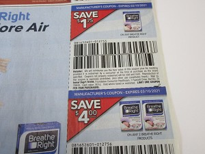 15 Coupons $1.75/1 Breathe Right + $4/2 Breate Right Products 3/10/2021